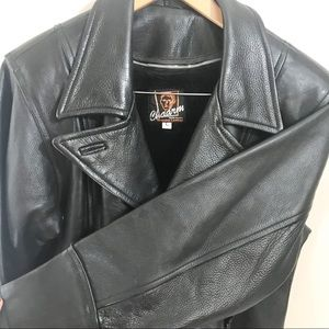 Other - Chaarm Genuine Leather Jacket